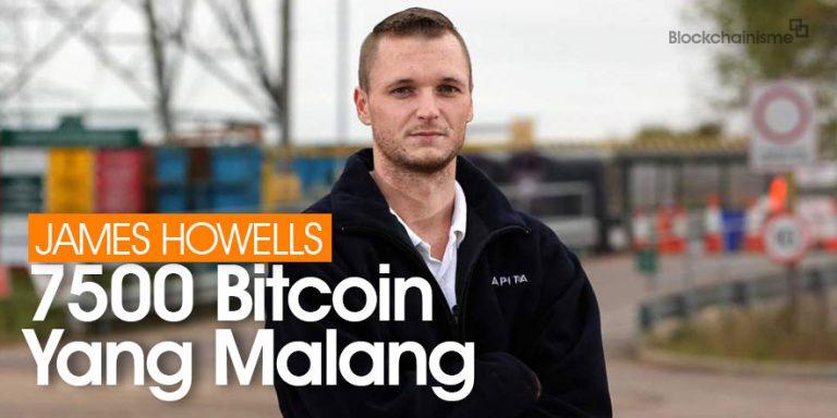 James Howells dan 7500 Bitcoin Hilang Di Pembuangan Sampah Newport Wales