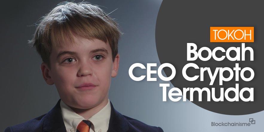 CEO Termuda di Dunia Crypto, 11 Tahun, George Weiksner, Pocketful of Quarters