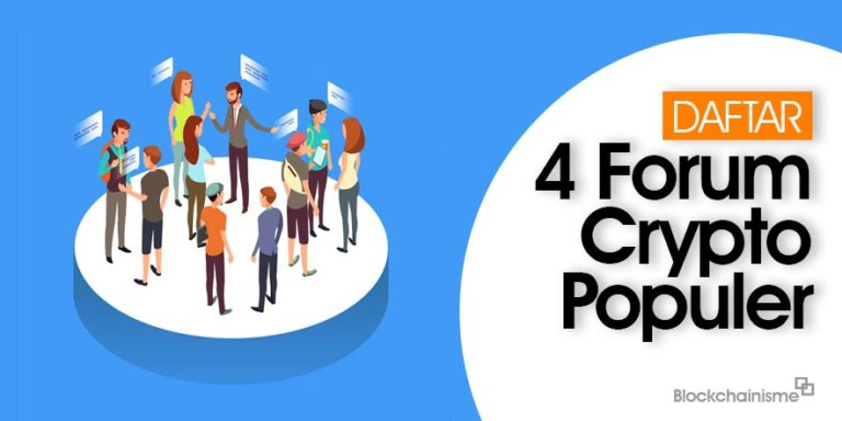 4 Forum Cryptocurrency Populer Ramai Pengunjung