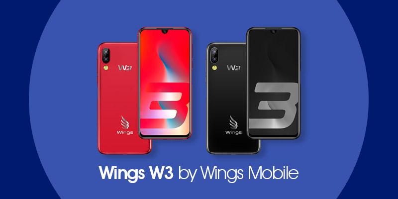 Wings W3 smartphone terbaru karya Wings Mobile