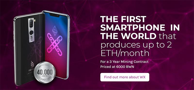 Wings WX Minephone, Smartphone Blockchain Wings Mobile Yang Mampu Menambang Ethereum