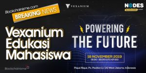 Vexanium Gelar Konferensi untuk Mengedukasi Mahasiswa di Jakarta Mengenai Teknologi Blockchain Nodes Blockchain Summit