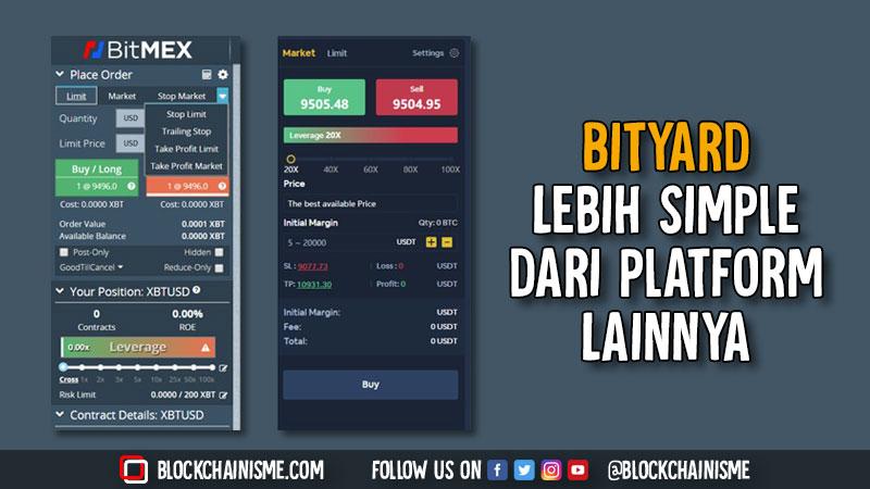 Bityard, Trading Kontrak Aset Digital Jadi Simple, Perbandingan Bityard Dengan Platform Lain