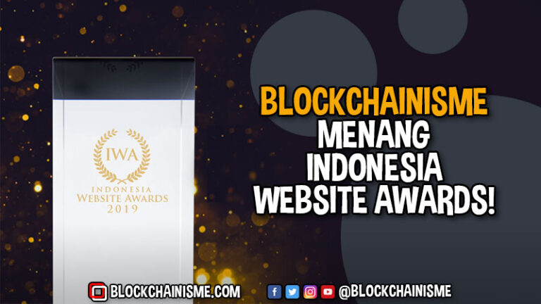 Blockchainisme Indonesia Website Awards Hadiah Site of the Month 2019