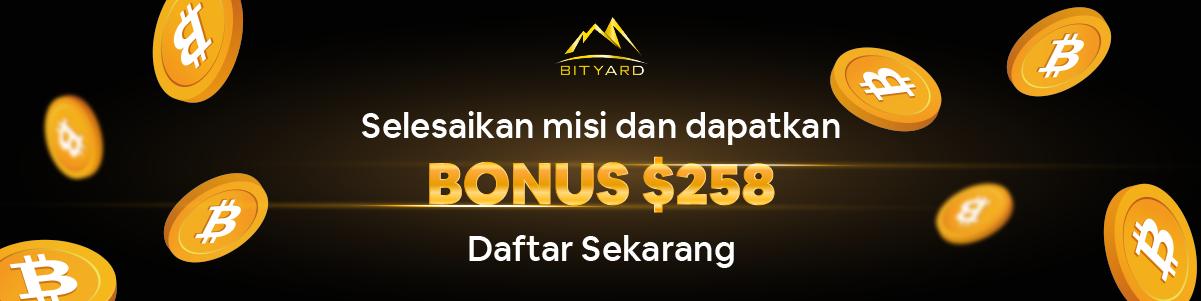Daftar Bityard, Bonus 259 USDT, Airdrop Bityard. Cloud Mining Gratis 2021