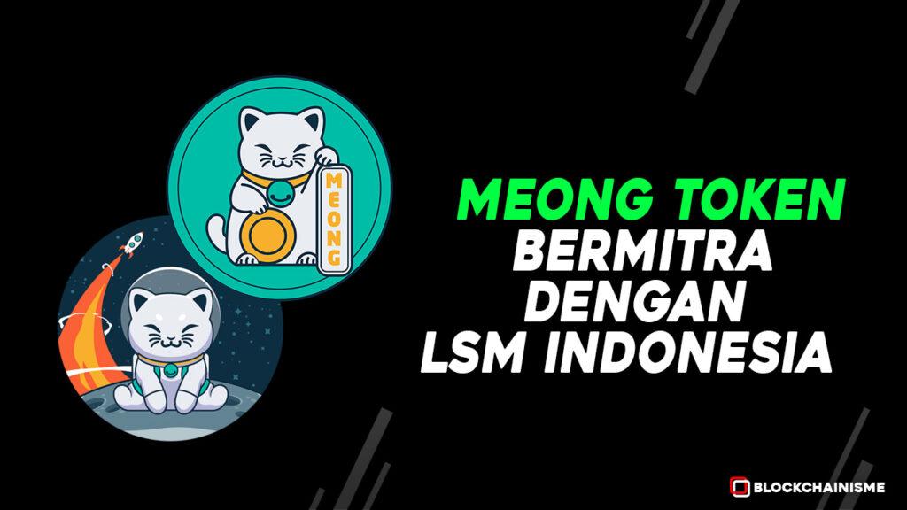 MeongToken Bermitra dengan LSM HARI dan Mountrash Asal Indonesia